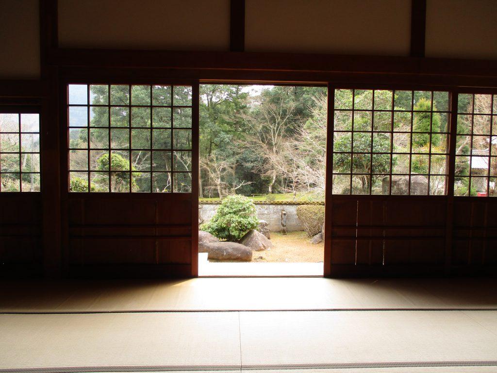 天寧寺(福知山)透明ガラス